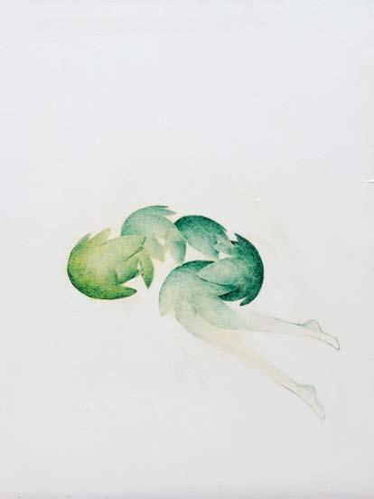 La Symbiose , 50x35 , Olio su tela  ,2012