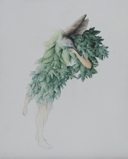 L'Aceptation , 50x35 , Olio su tela , 2011