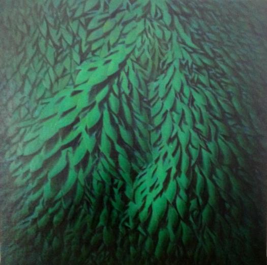 Il Silenzio o In Presenza dell'Assenza #4 , 31,8x31,8 , Olio su tela , 2015