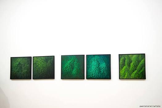 Il Silenzio o In Presenza dell'Assenza , 165 x 32 , Olio su tela , 2013-2015